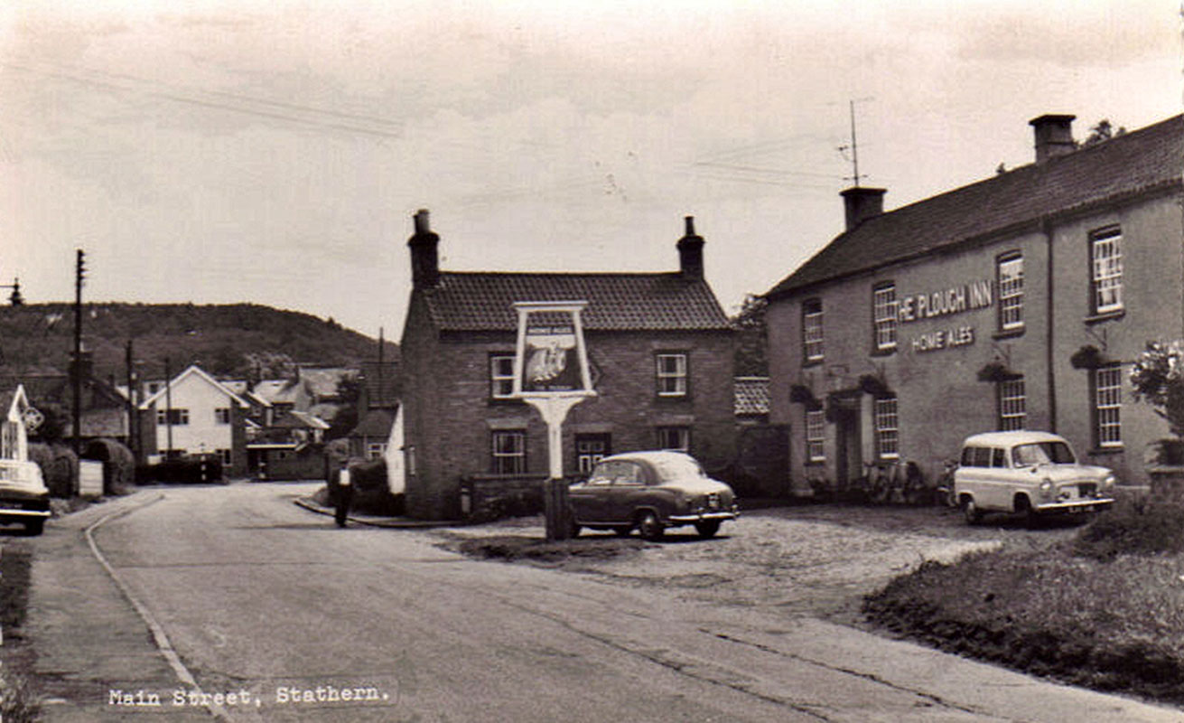 Old Photo of the plough stathern
