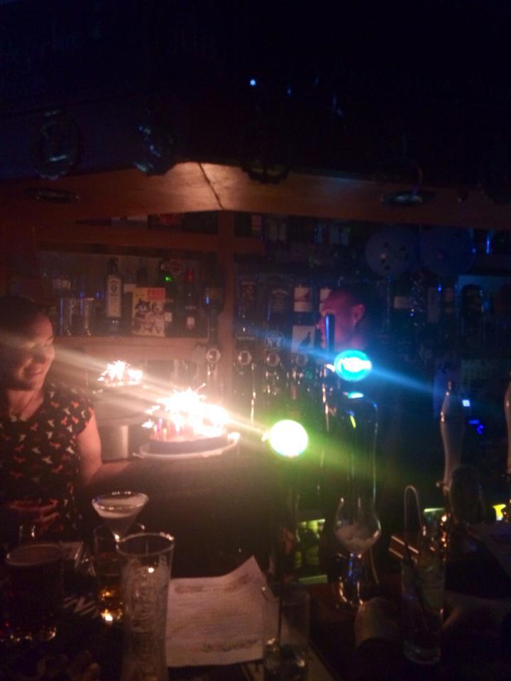 Martins cocktail night